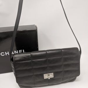 CHANEL 2.55 Reissue Mademoiselle Chocolate Bar Bag